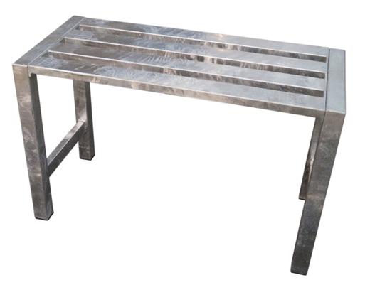 A2 LIVING bænk - galvaniserede stål (75x35)