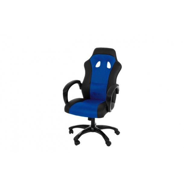 Race kontorstol - blå