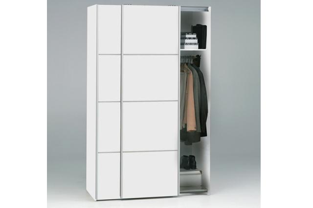 Utroligt Verona garderobeskab - Billigt skab med skydelåger. UT62
