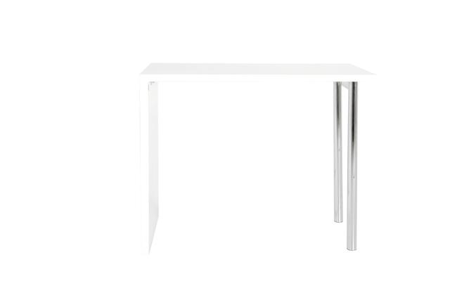 Budgie højbord - Hvid højglans