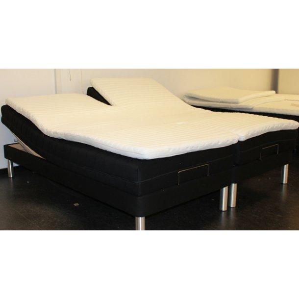 Sleepzone dobbelt split topmadras til elevationssenge 180 x 200 cm