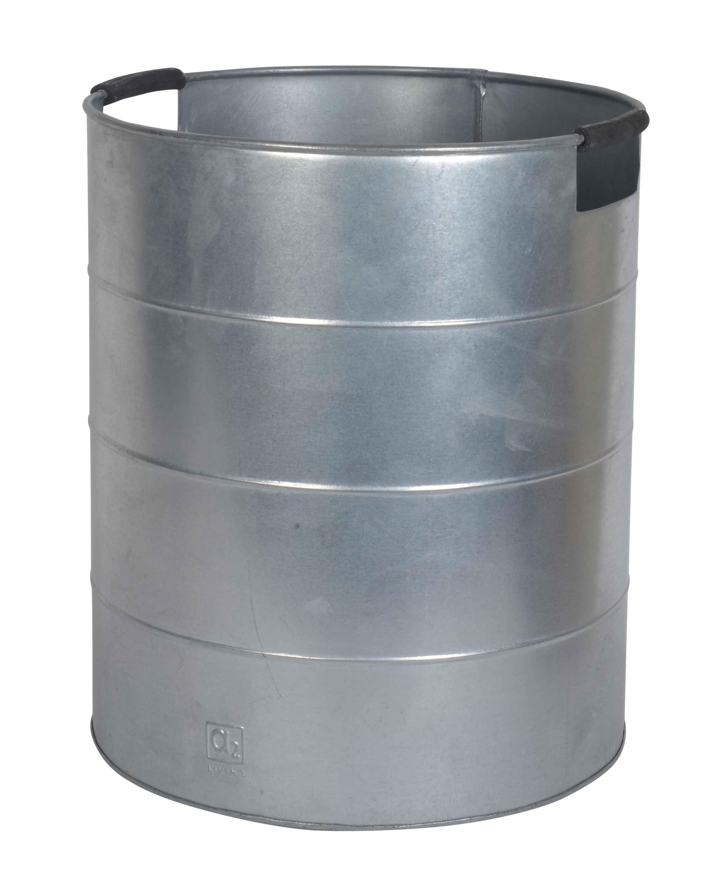 Image of A2 LIVING Maxi Plantespand - galvaniseret stål, med håndtag