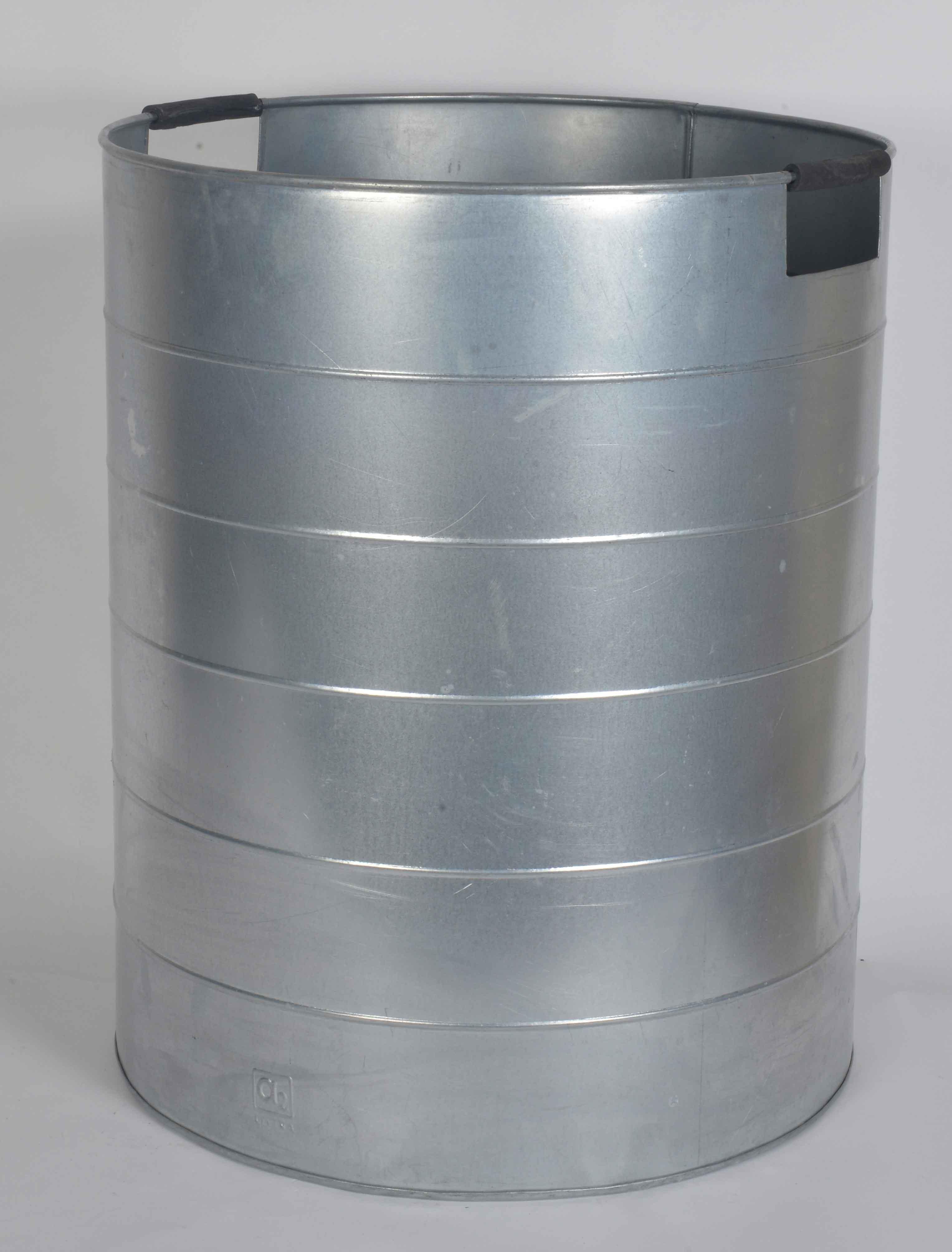 Image of   A2 LIVING XL Mega Plantespand - galvaniseret stål, med håndtag