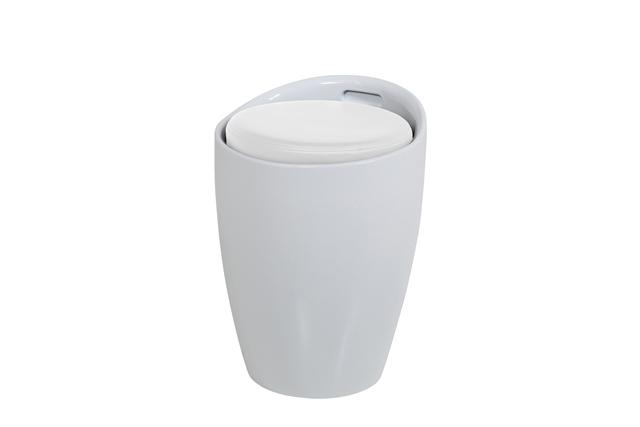 Image of   Minxie taburet - hvid