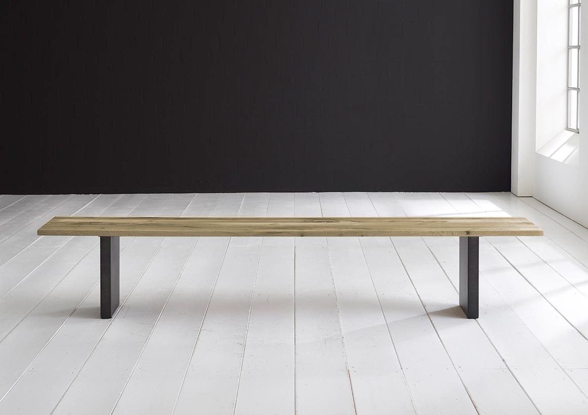 Concept 4 You Spisebordsbænk - T-Ben 240 x 40 cm 3 cm 05 = sand