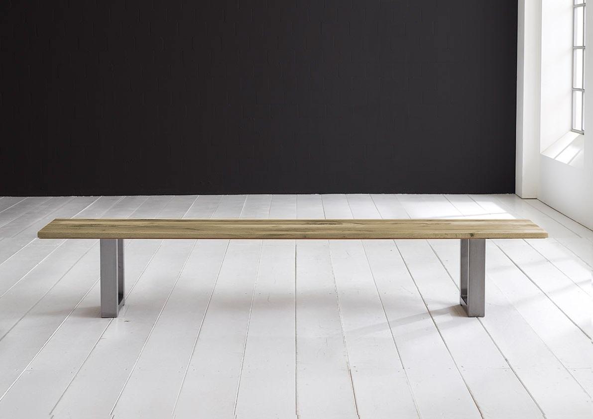 Concept 4 You Spisebordsbænk - Manhattan ben 240 x 40 cm 3 cm 05 = sand