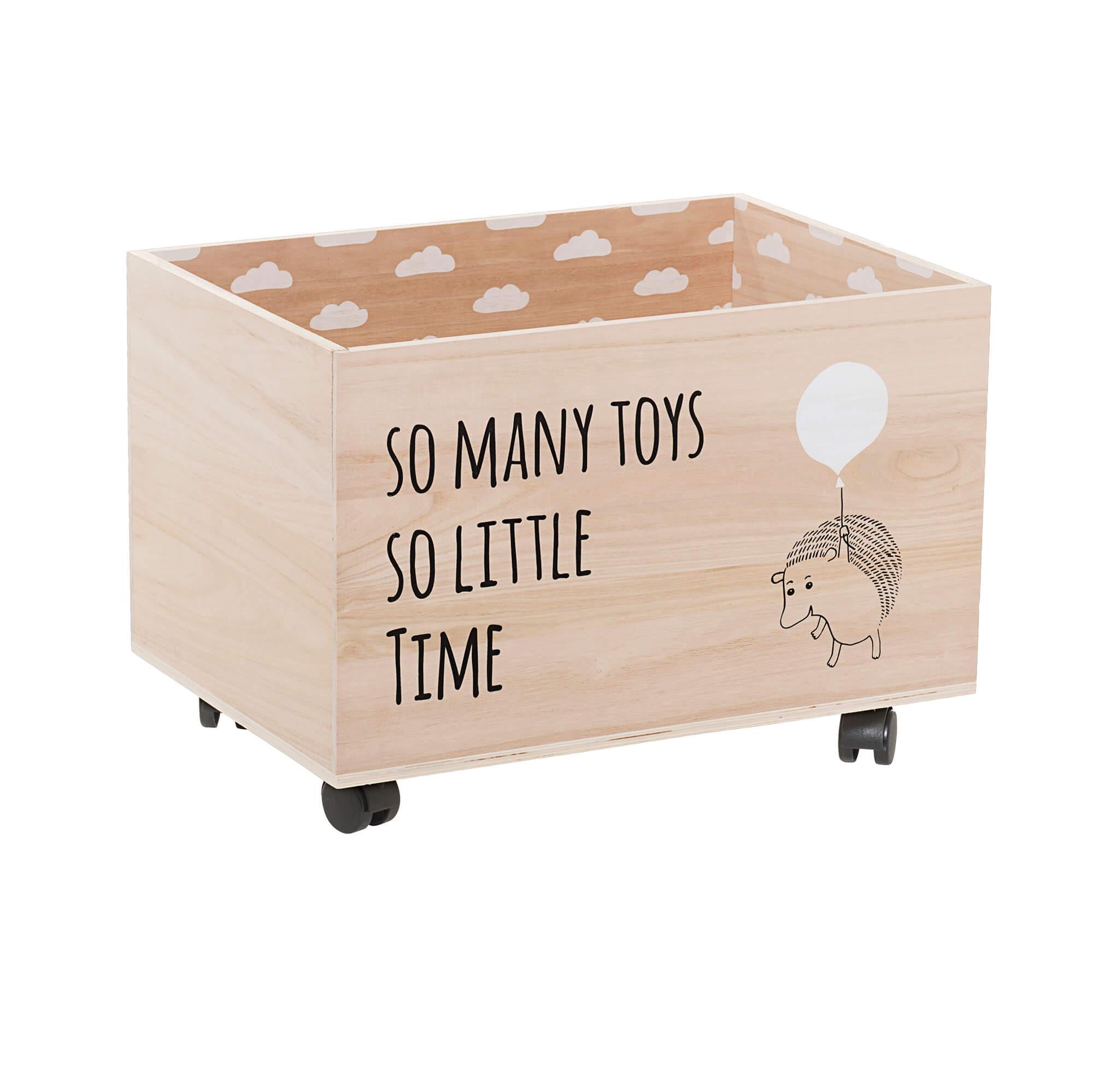 Bloomingville Mini Opbevaringskasse Natur Paulowniatrae M Hjul Opbevaringskasser Til Born Bobo Mobler Boligtilbehor Og Indretning Til Hjemmet