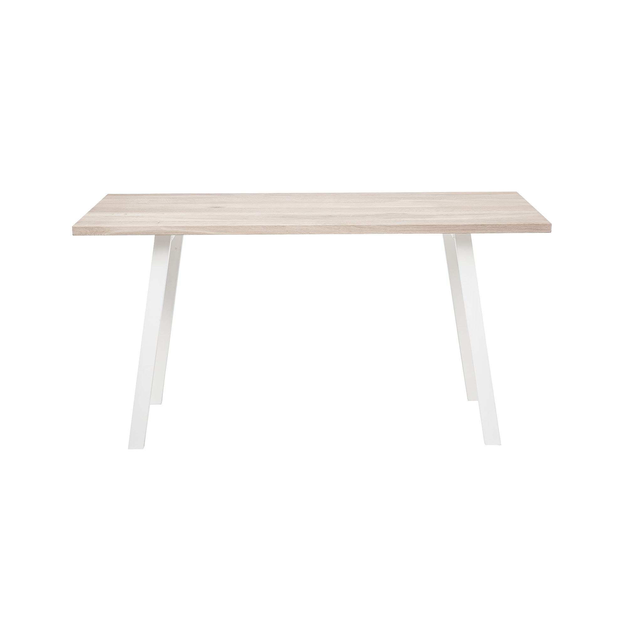 BLOOMINGVILLE Cozy konsolbord - natur egetræ/hvid jern