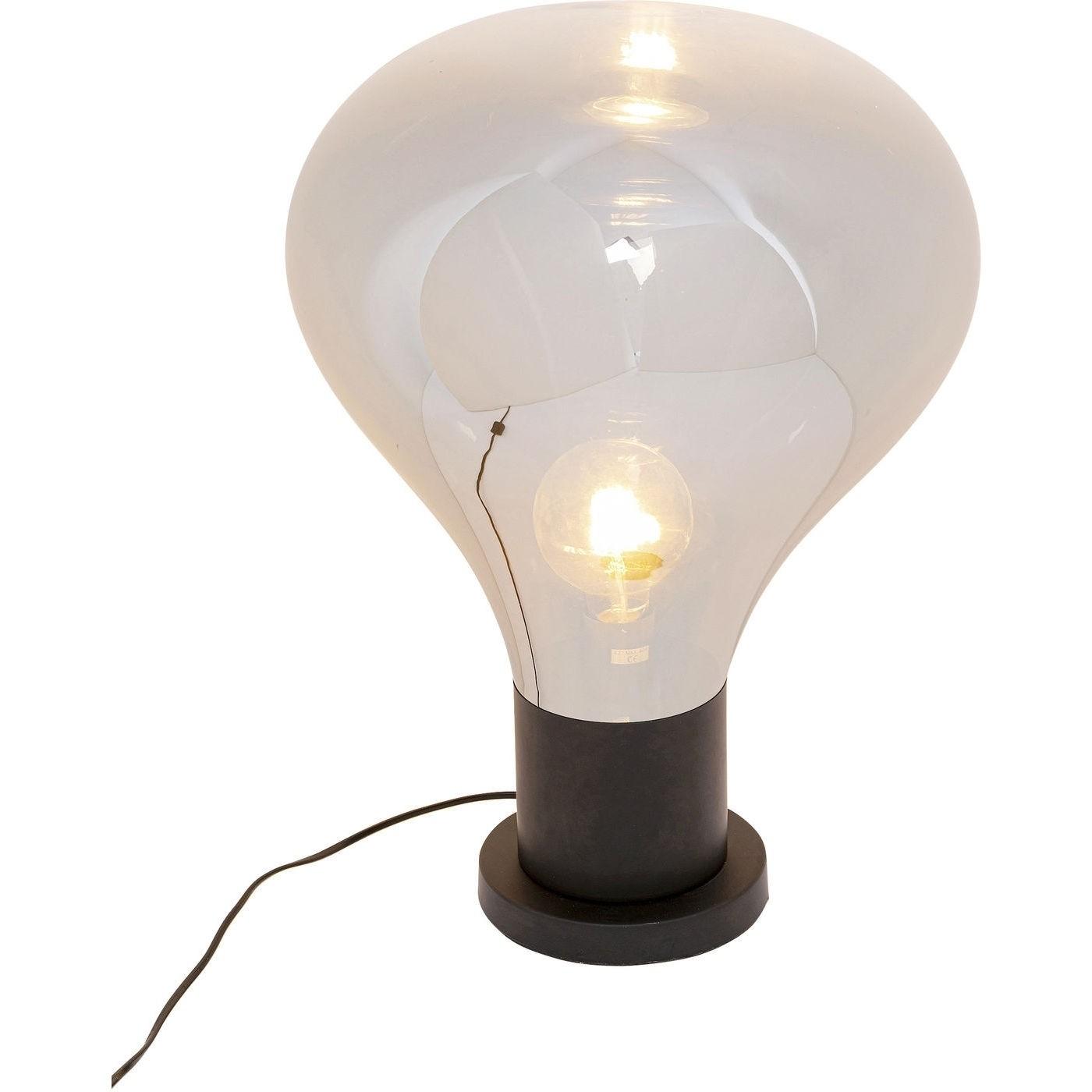 kare design Kare design pear black bordlampe - glas og stål (h:53cm) fra boboonline.dk
