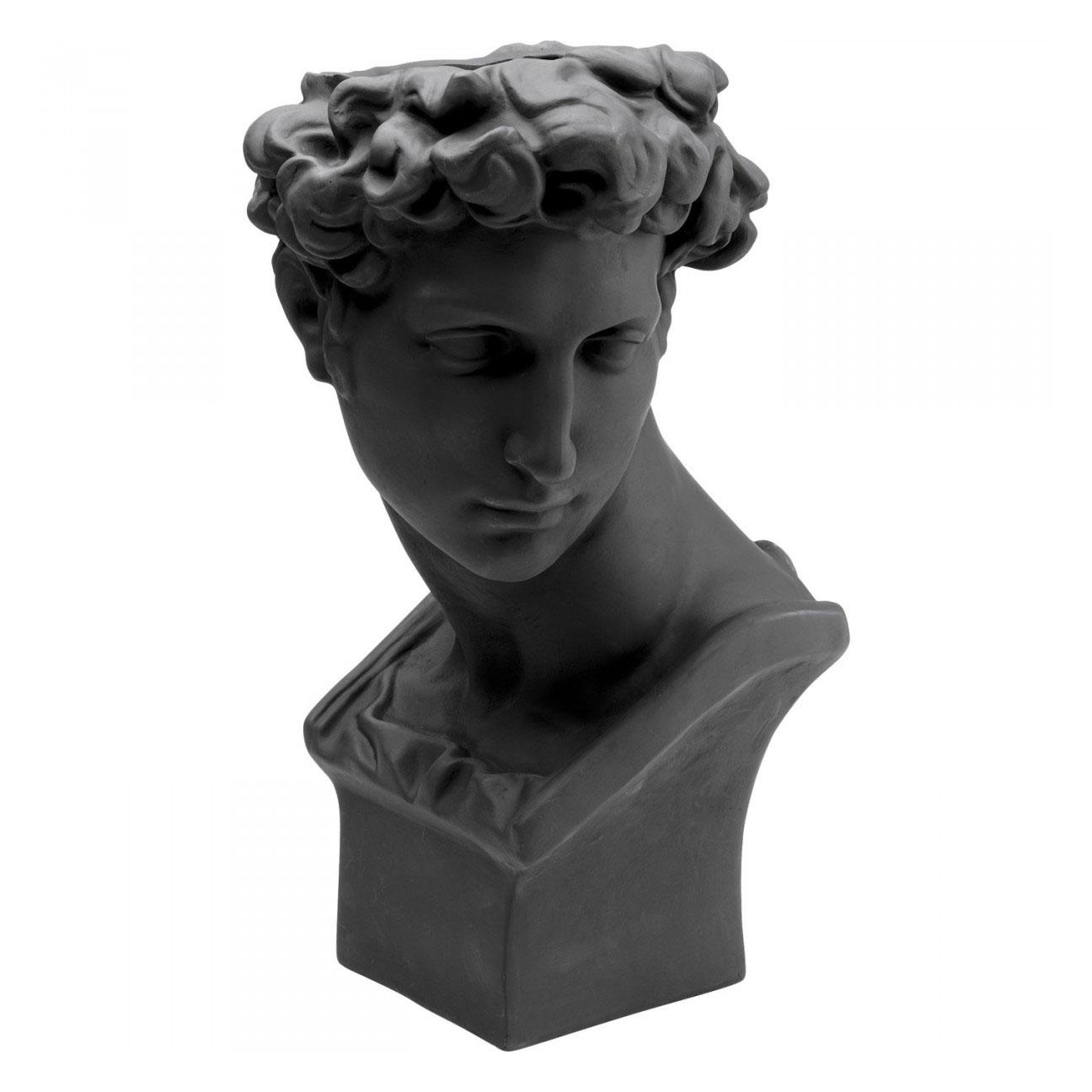 KARE DESIGN David Black dekorationsurtepotte - sort fiberglas