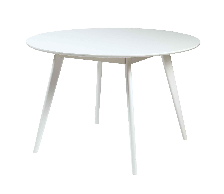 Image of   Yumi spisebord - Hvidt egetræ, rundt (Ø:115)
