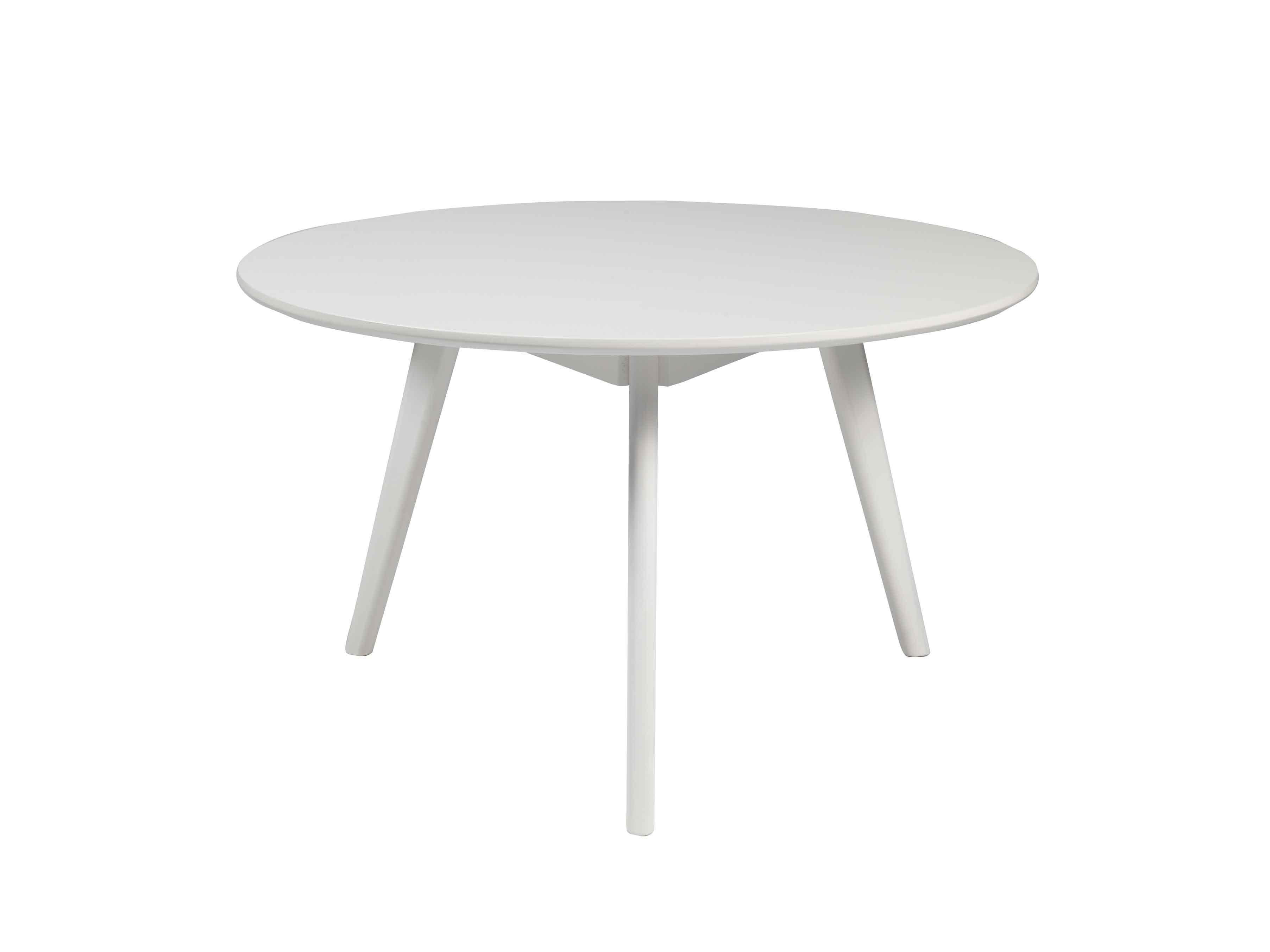 Yumi sofabord - Hvidt asketræ, rundt (Ø:90)