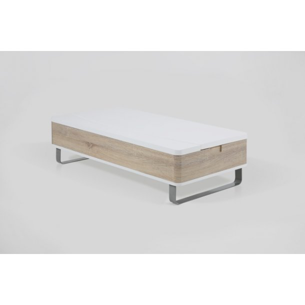 sofabord med opbevaring til sengetøj
