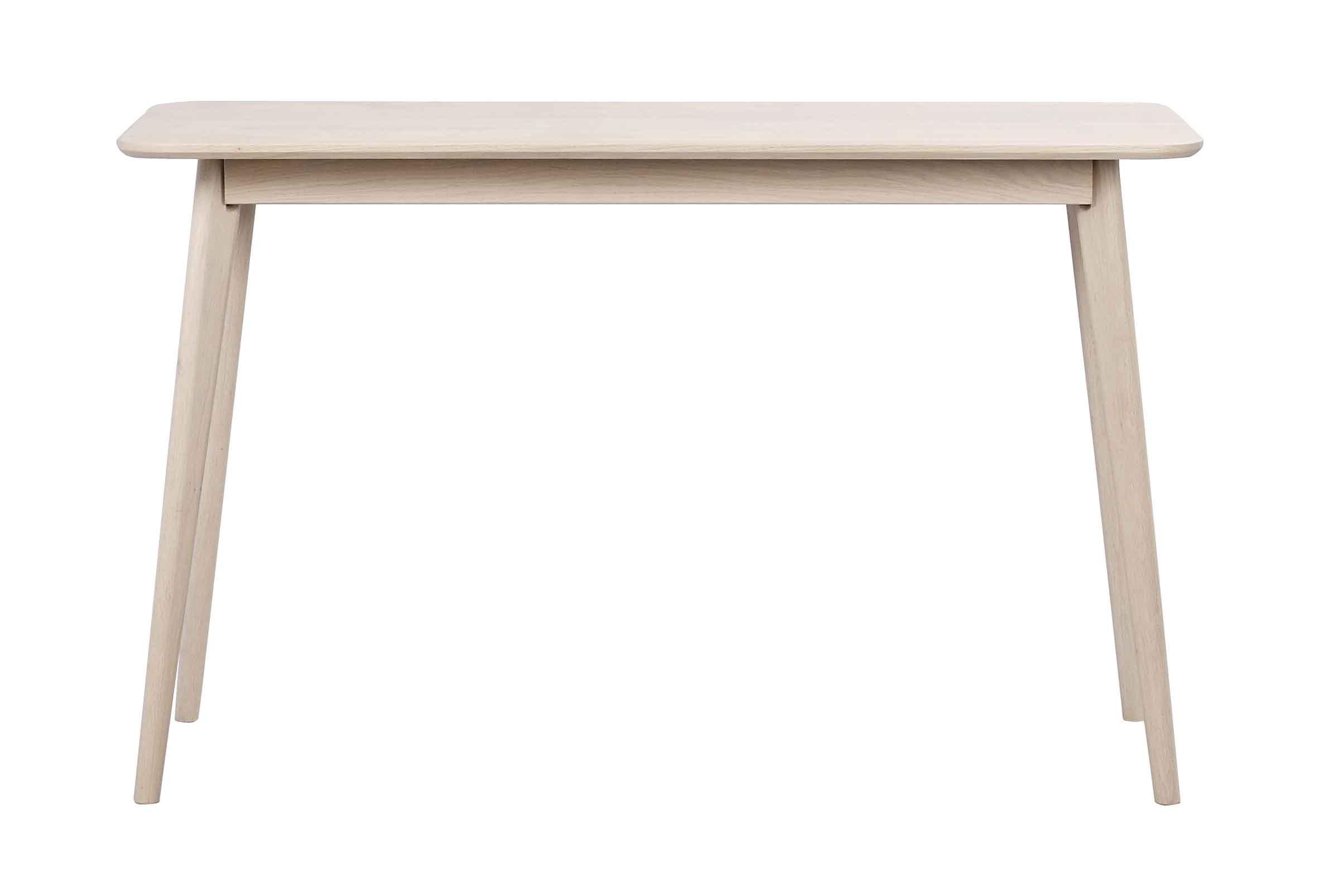 Yumi konsolbord - hvidpigmenteret egetræ