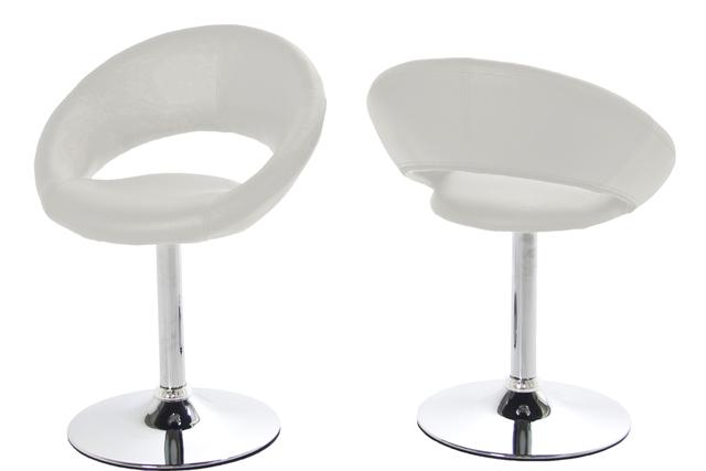 Billede af Plump spisestol hvid