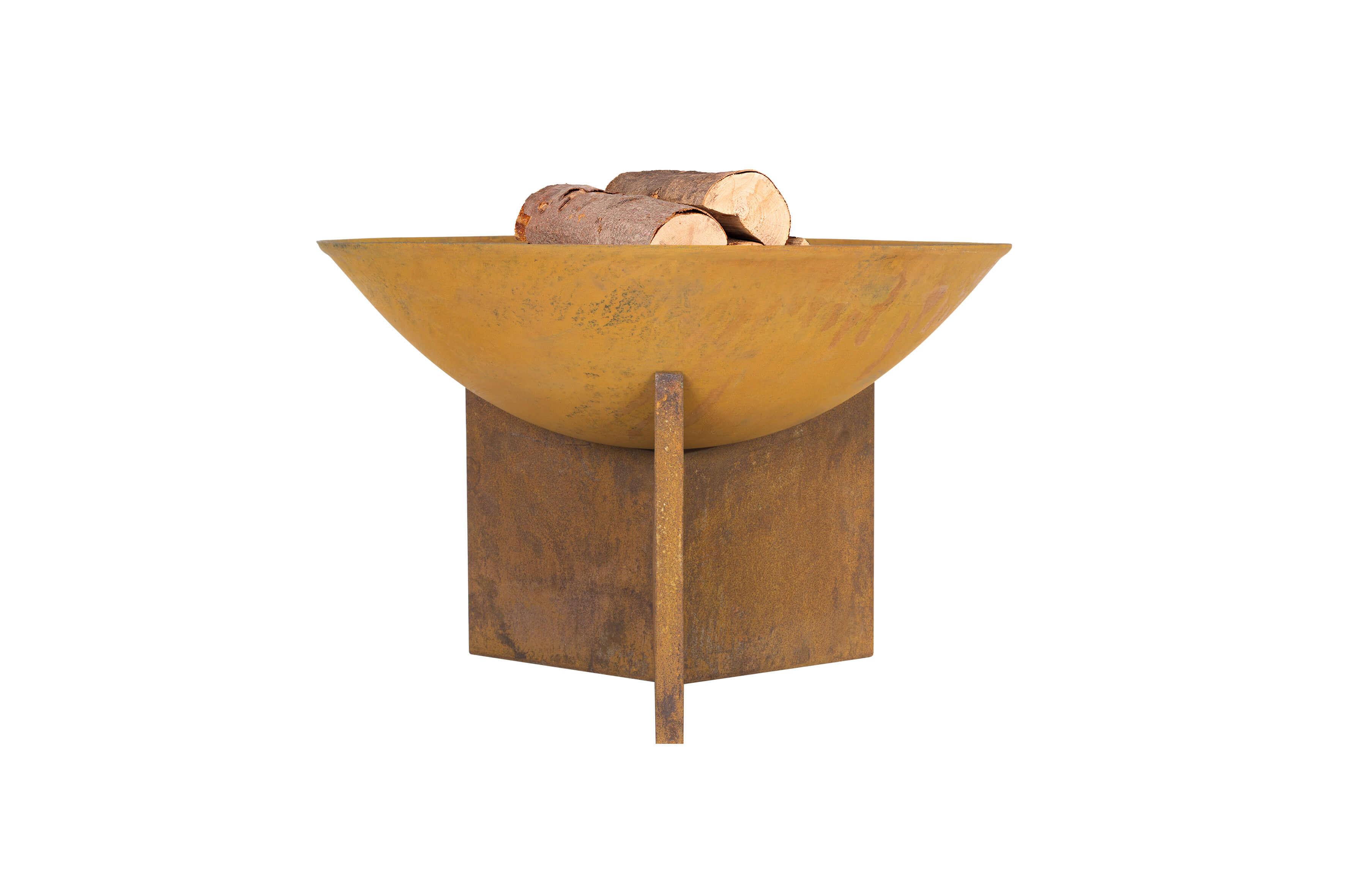 la hacienda – La hacienda kala bålfad - rust støbejern og stål, rund (ø56) fra boboonline.dk