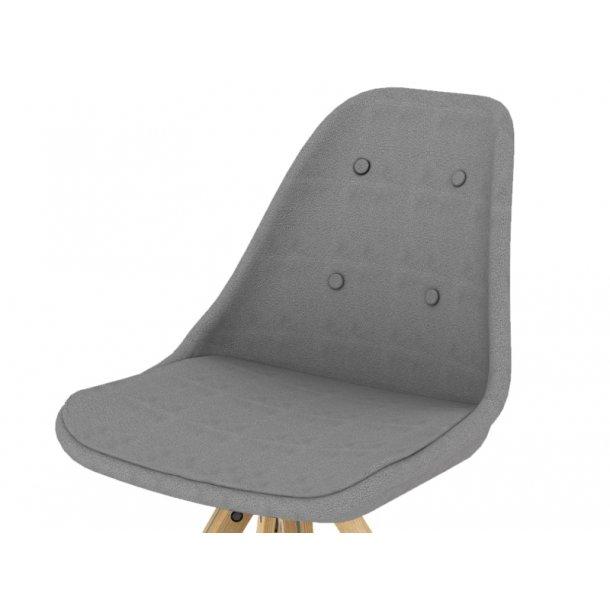 Stol no. 1 - grå