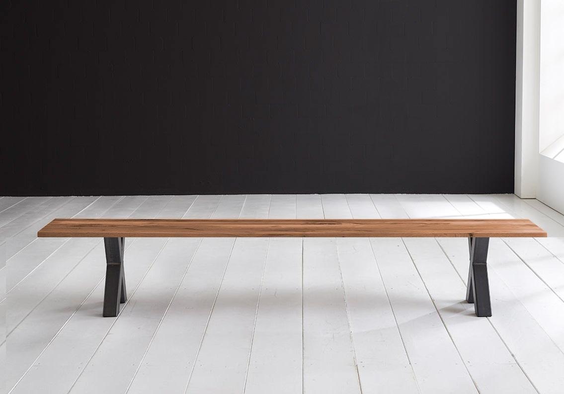 Concept 4 You Spisebordsbænk - Freja ben 220 x 40 cm 3 cm 06 = old bassano