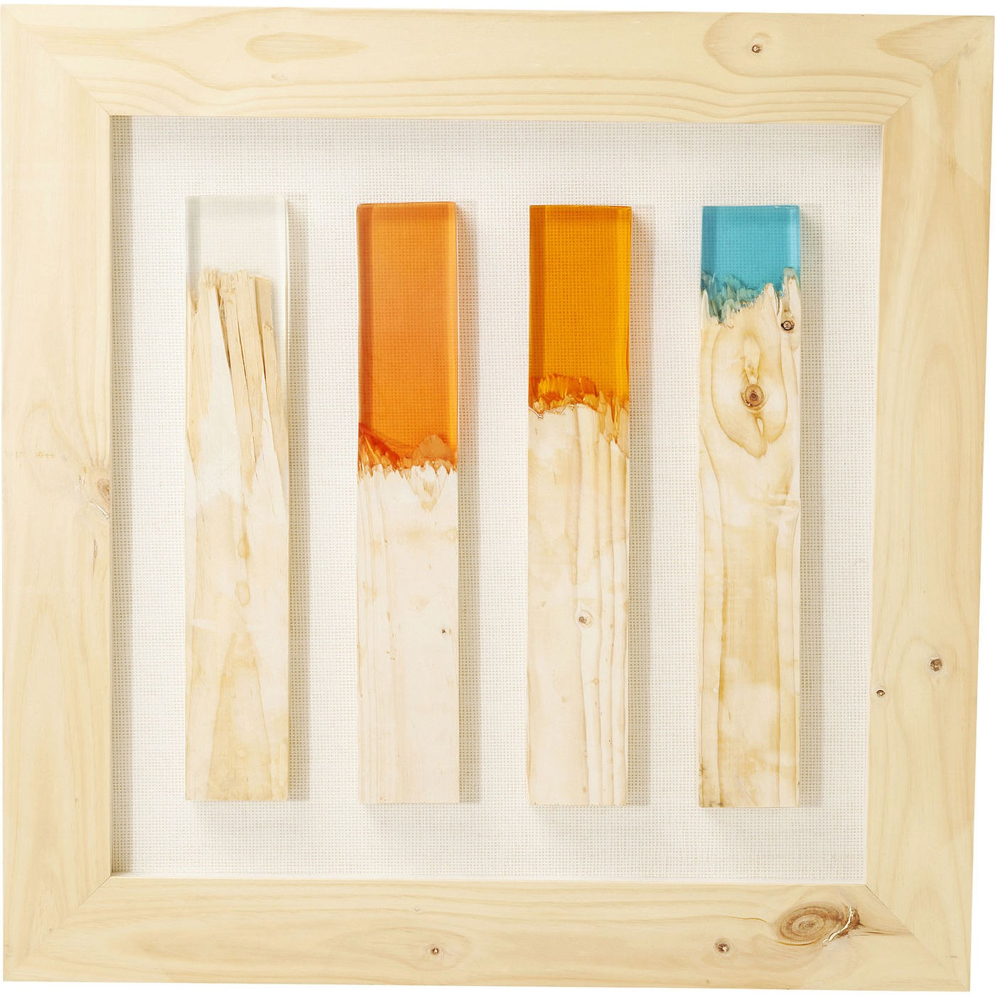Image of   Vægdekoration Frame Match Colore 90 x 90 cm