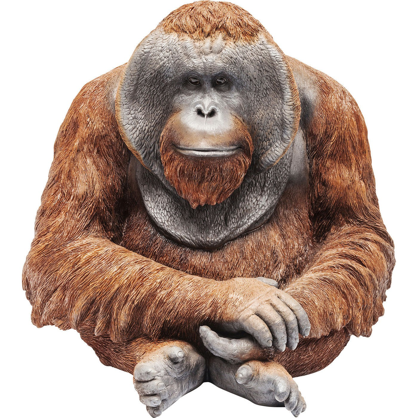 Image of   Dekoration Figur Monkey Orangutan Stor