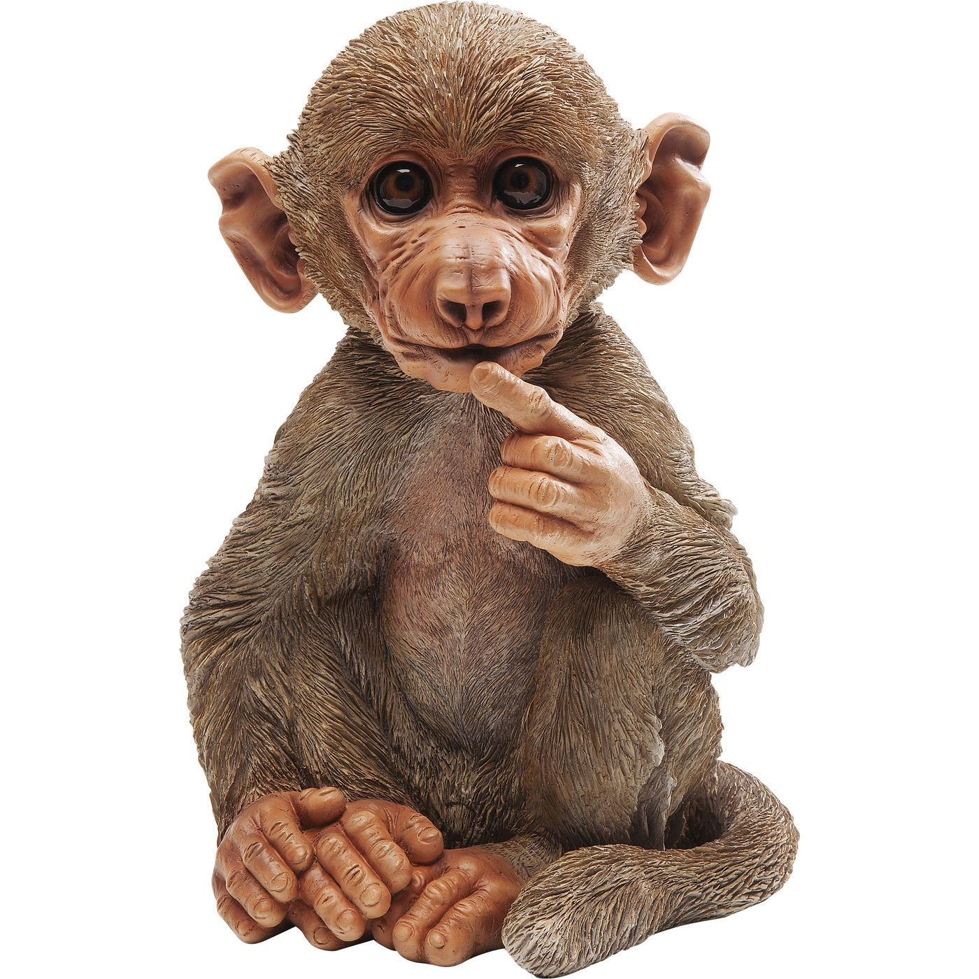 Image of   Dekoration Figur Monkey Baby Baboon