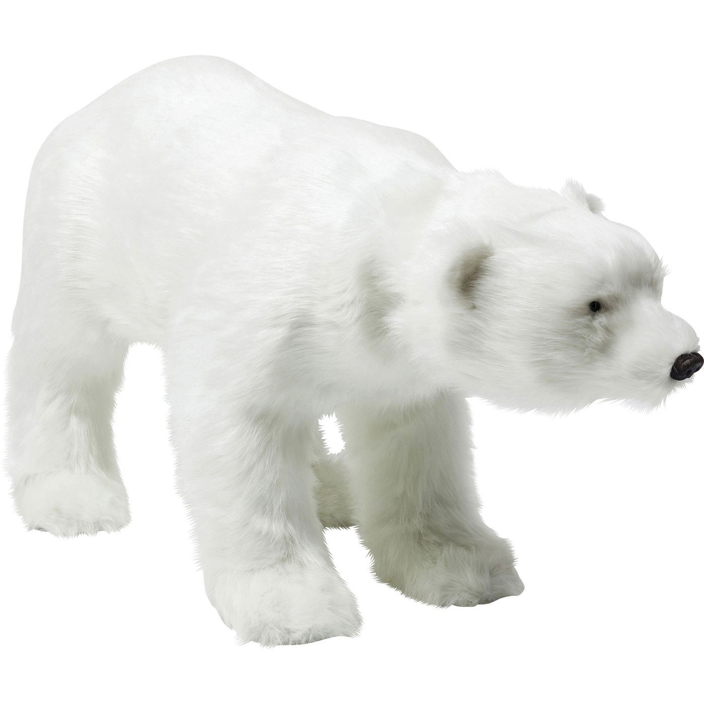 Dekoration Figur Moving Sound Baby Polar Bear Fur