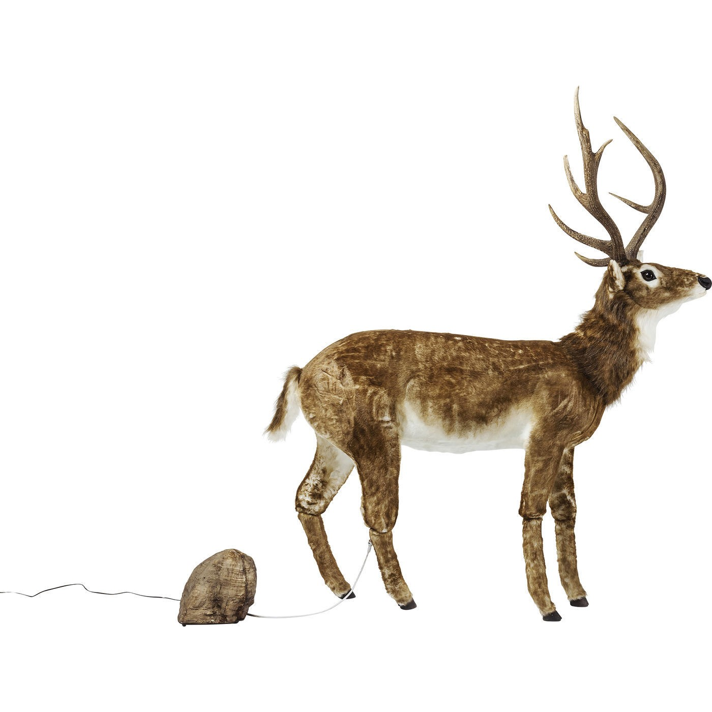 Image of   Dekoration Figur Moving Sound Deer Fur
