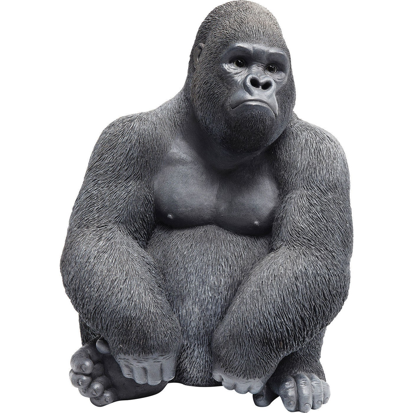 Image of   Dekoration Figur Monkey Gorilla Side Mellem