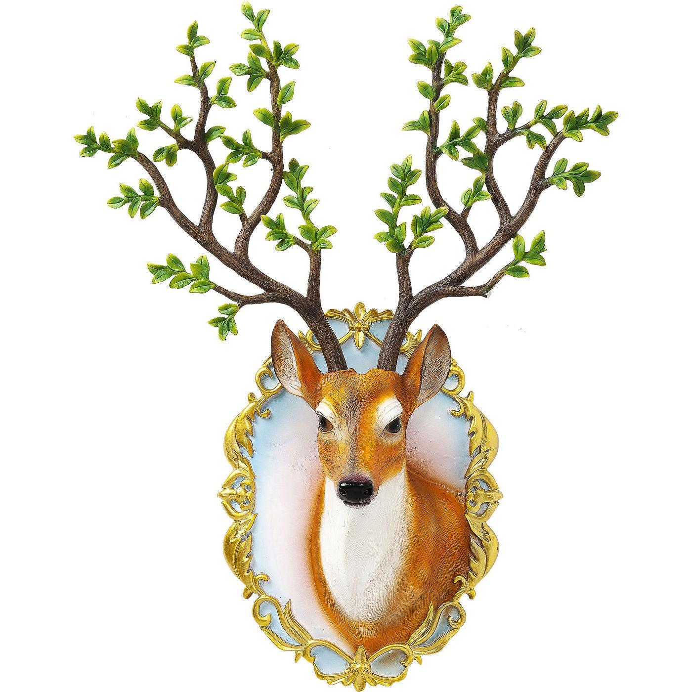 Image of   Vægdekoration Antler Deer Forest