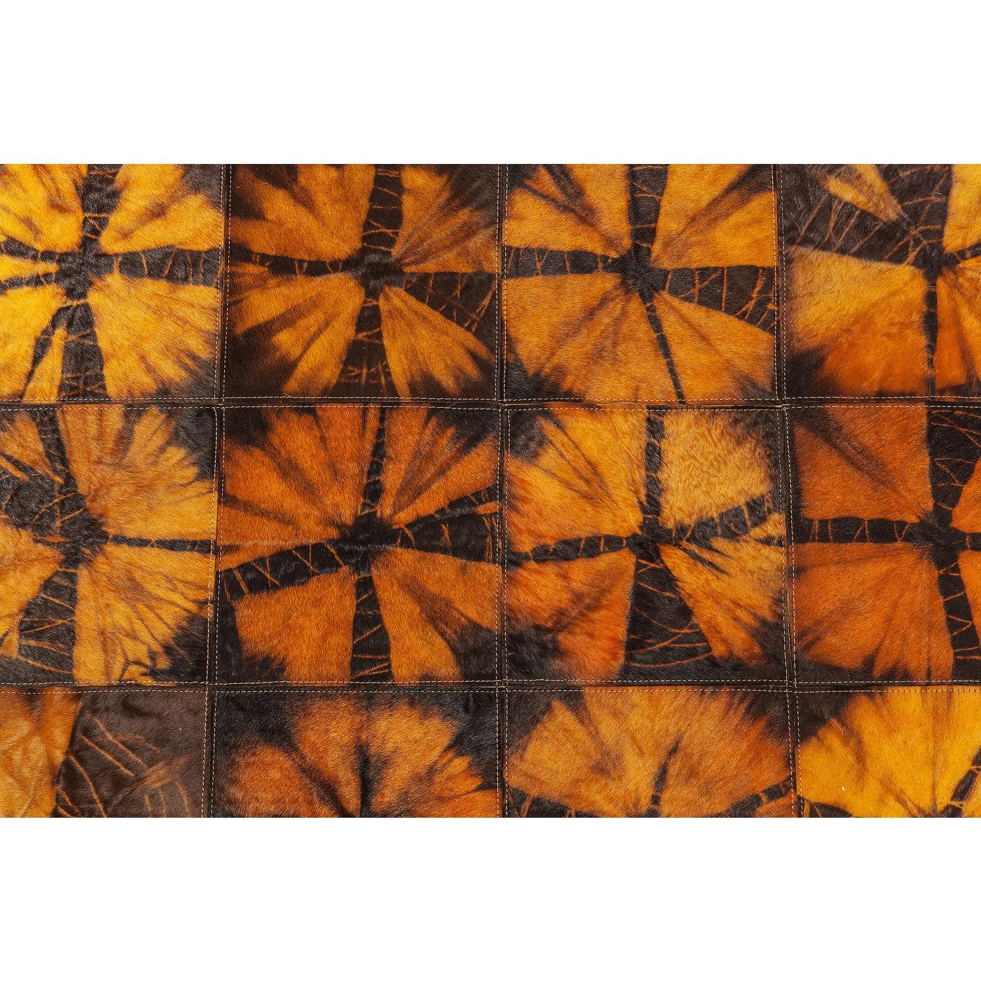 Billede af Tæppe Batik Orange 240 x 170 cm