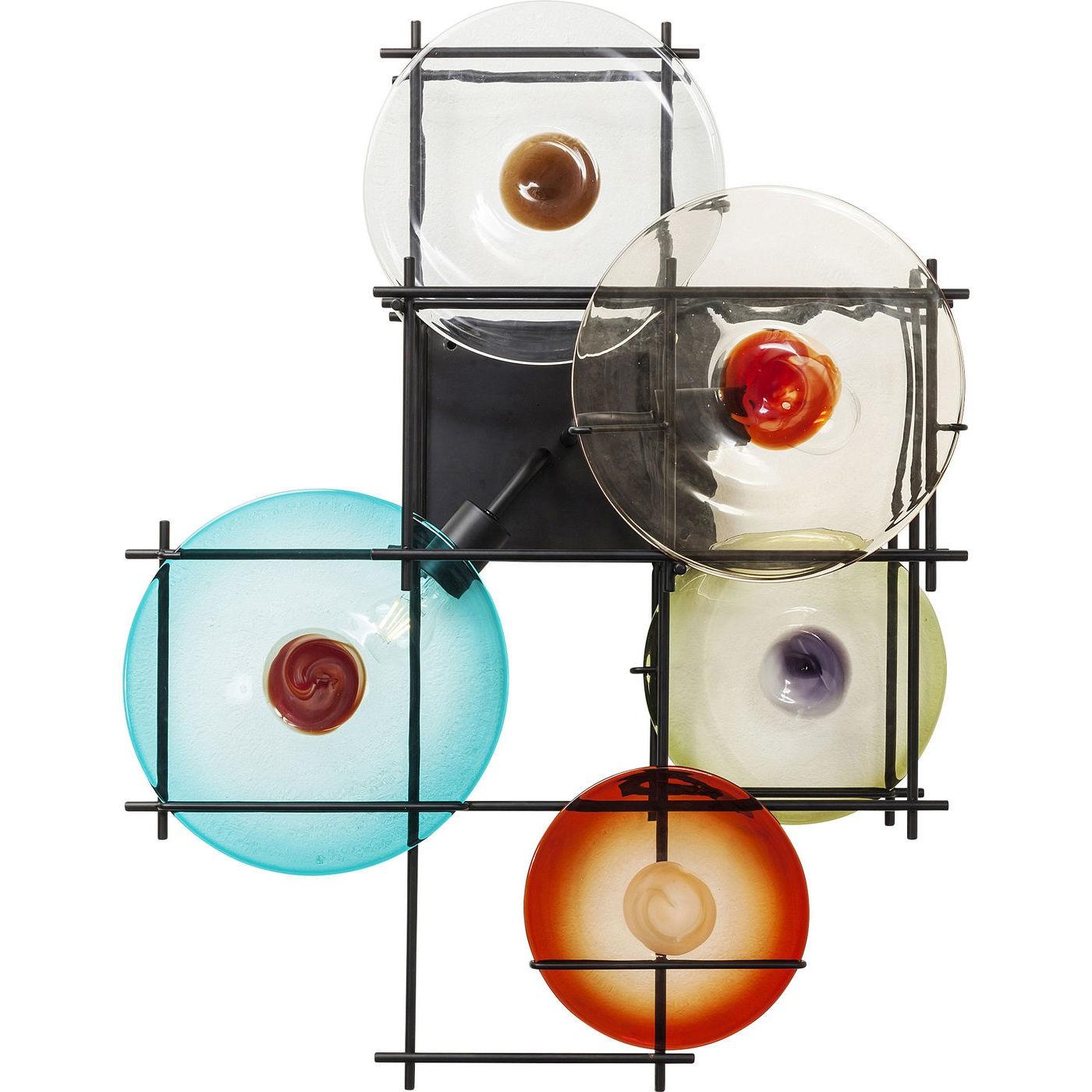 Image of   Væglampe Disk Colore