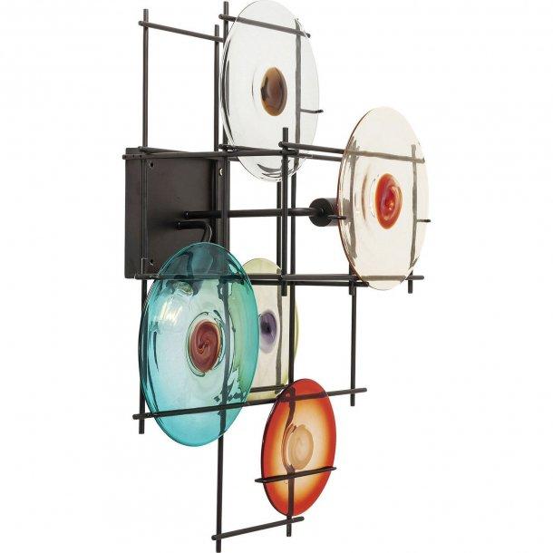 Væglampe Disk Colore