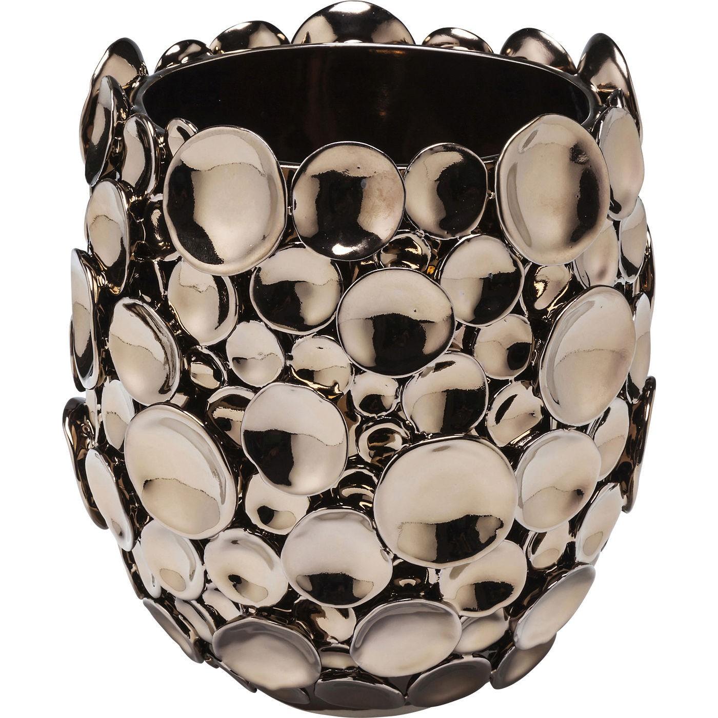 kare design Kare design vase, circles kobber 25 cm fra boboonline.dk