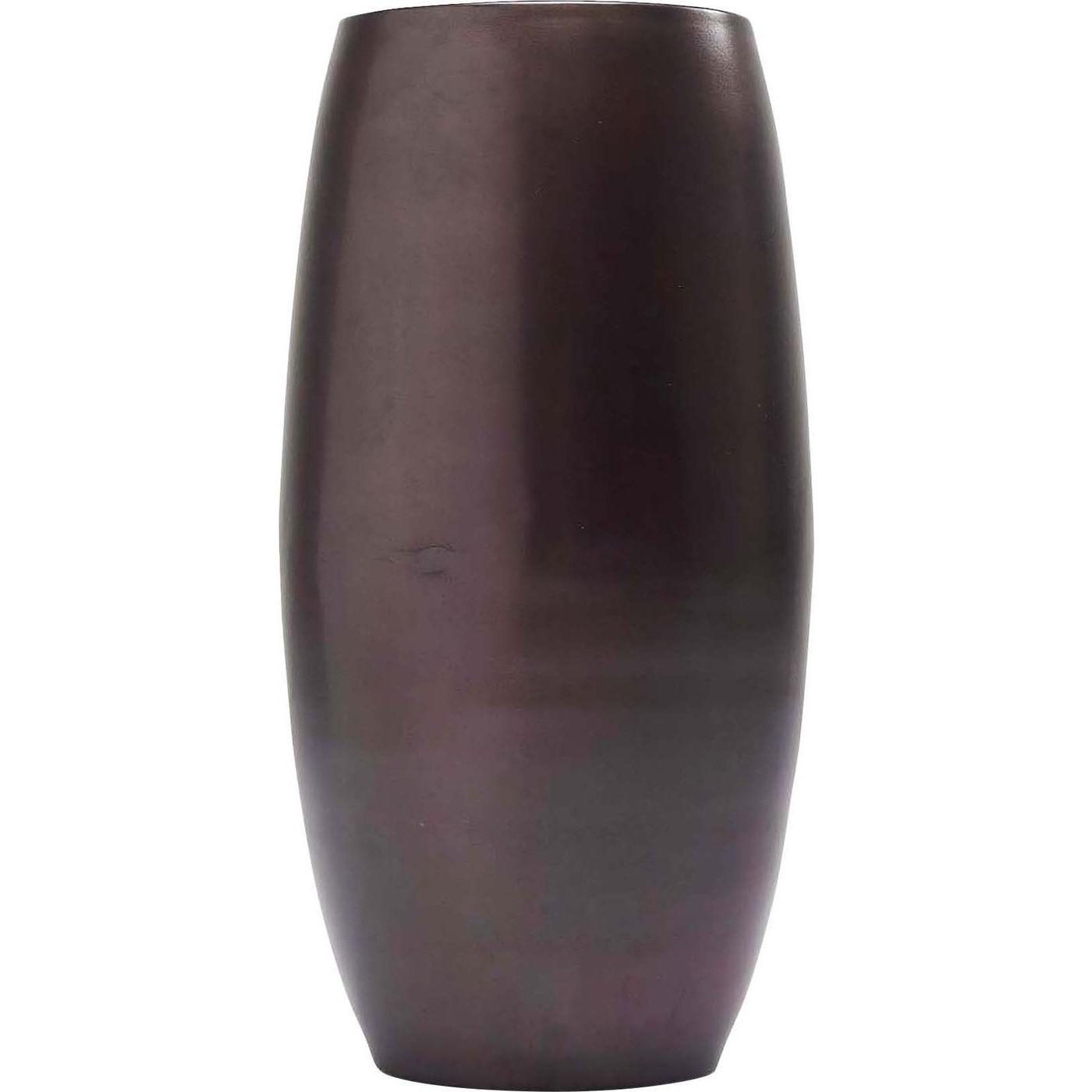Kare design shadow vase - mørkt stål (ø 18) fra kare design på boboonline.dk