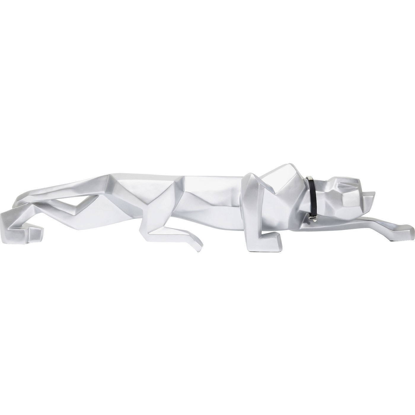 Dekoration Figur Silver Cat 185