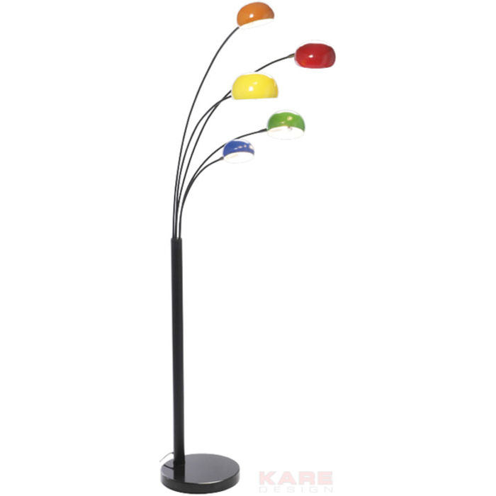 Image of   KARE DESIGN Gulvlampe, Five Fingers Colore