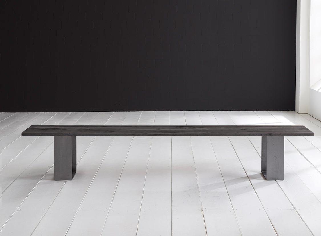 Concept 4 You Spisebordsbænk - Houston ben 200 x 40 cm 3 cm 07 = mocca black