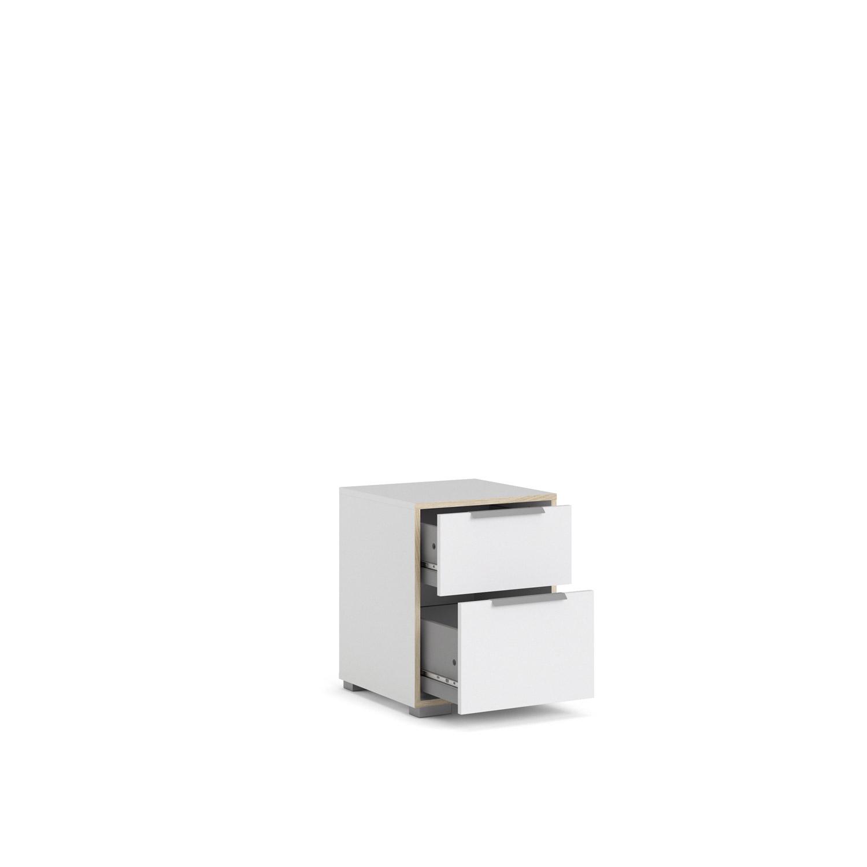 Picture of: Line Natbord I Stilrent Og Enkelt Design Med To Skuffer