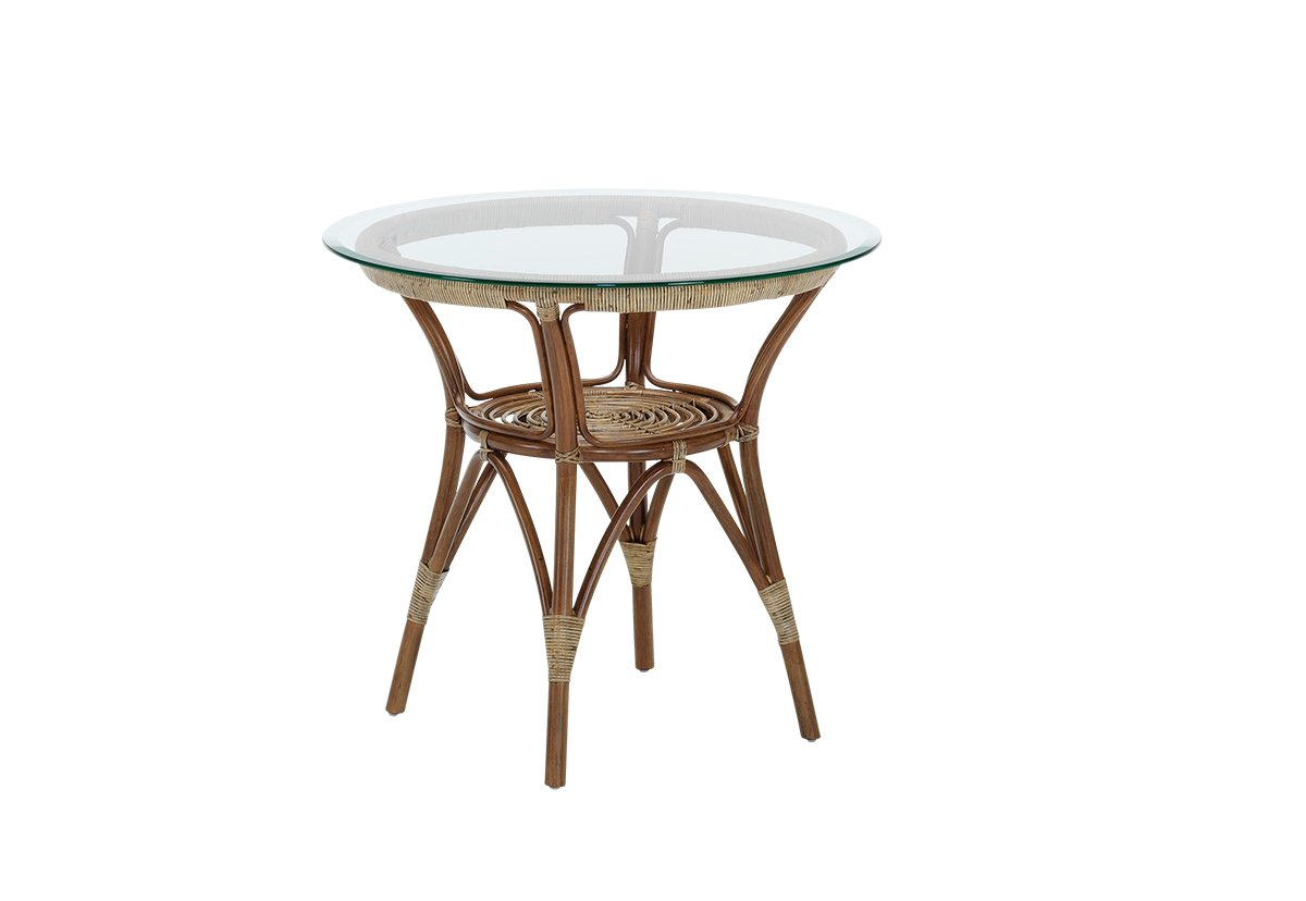Sika design originals sidebord ø60, m. glasbordplade fra sika design på boboonline.dk