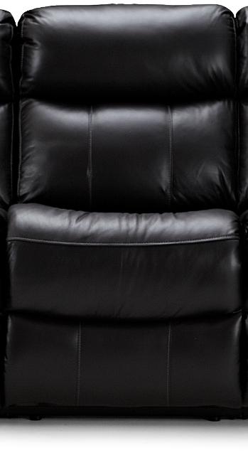 haga gruppen – Haga arizona biograf modul - sort læder, recliner, midt fra boboonline.dk