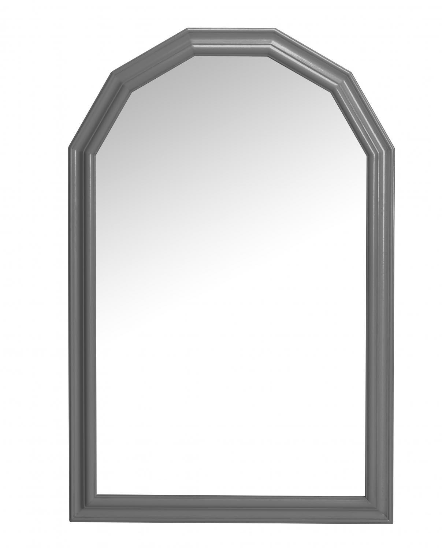 Minette vægspejl - grå (87x57)