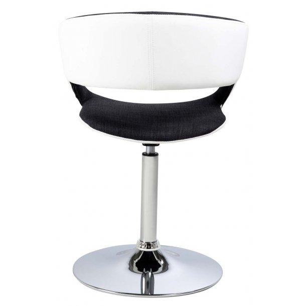 Grace spisebordsstol med armlæn - sort