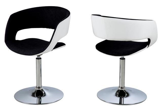 Billede af Grace spisebordsstol med armlæn - sort