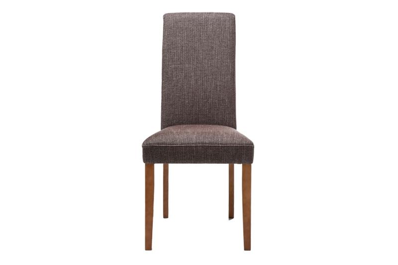 kare design Kare design econo spisebordsstol - brun stof m. træben på boboonline.dk
