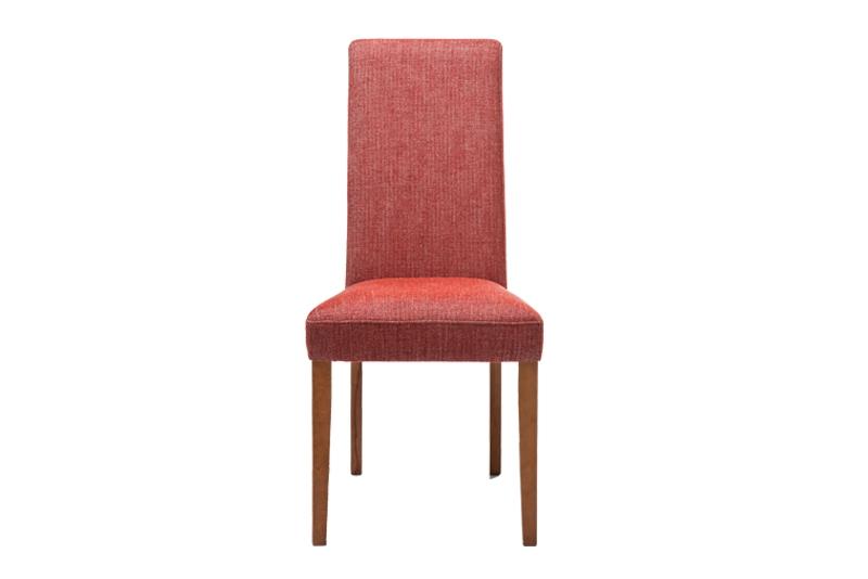 Kare design econo spisebordsstol - rødt stof m. træben fra kare design fra boboonline.dk