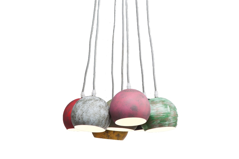 Image of   KARE DESIGN Calotta loftlampe - Antik 7 lamper