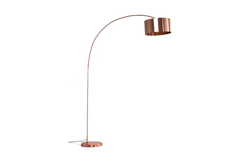 KARE DESIGN Gooseneck gulvlampe - kobber
