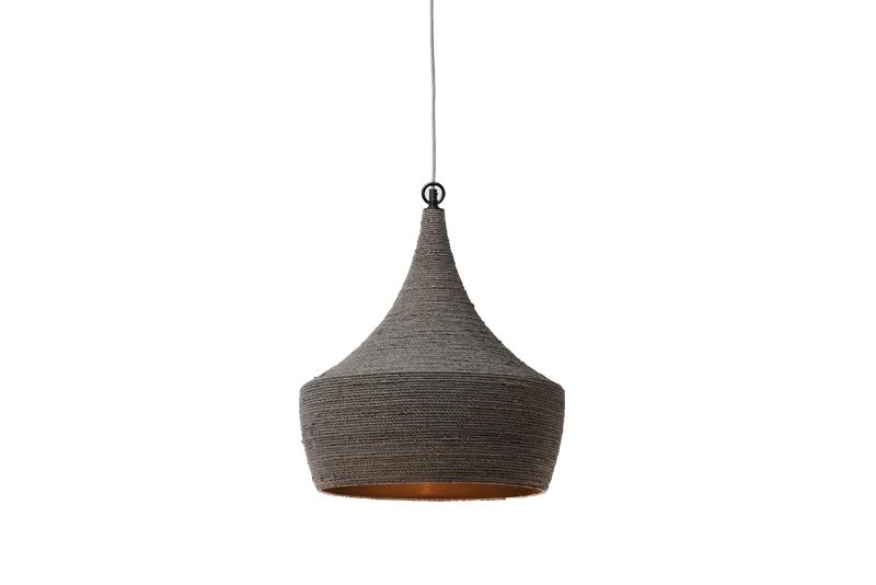 Kare design sisal loftlampe - gråt stof fra kare design på boboonline.dk