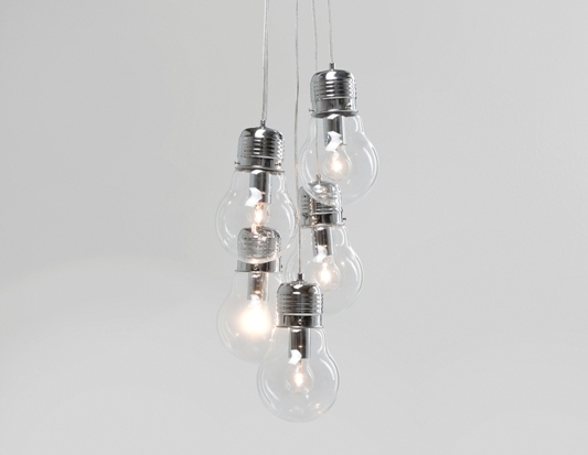 Image of   5 Lampepærer loftlampe