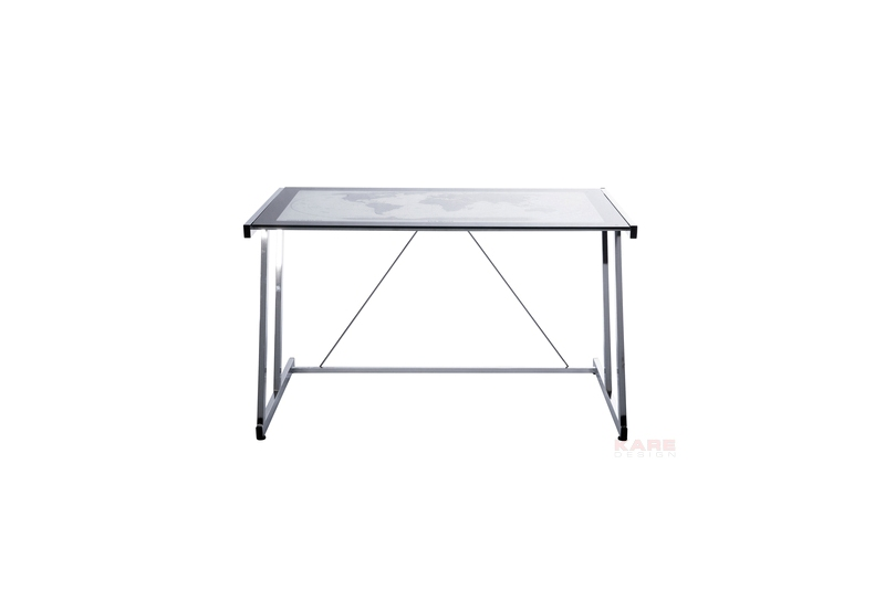 kare design Kare design mondo skrivebord - glasplade, stål fra boboonline.dk